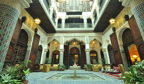 Room photo 4574850 riads passion hotel fez for Luxury riad in marrakech
