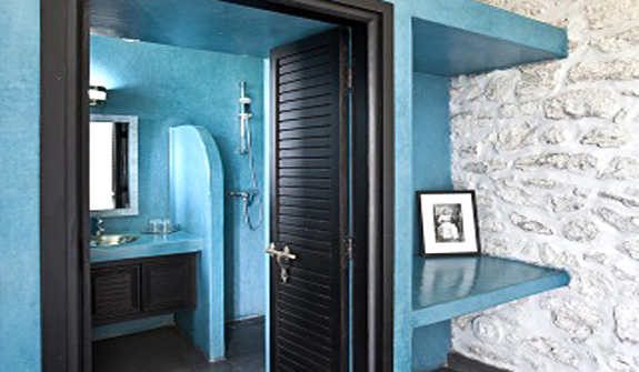 Salle de bain turquoise et noir - Salle de bain turquoise et noir ...