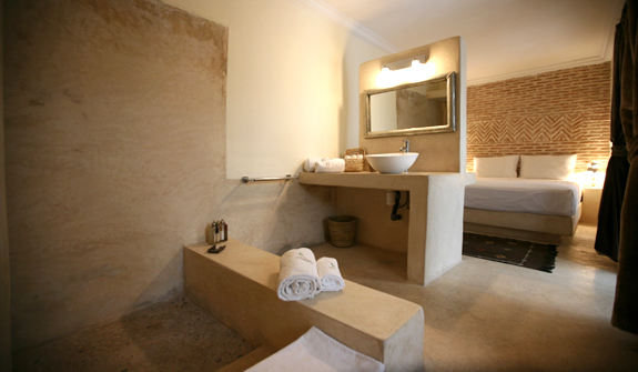 Double room rose des sables