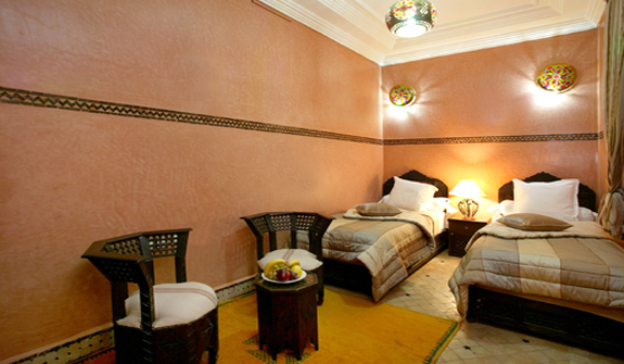Twin room Koutoubia