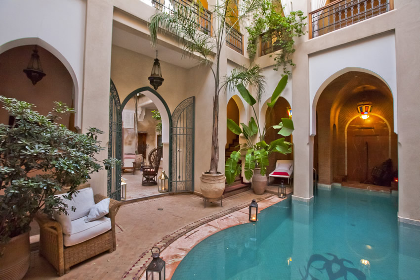 Riad Monika en Marrakech