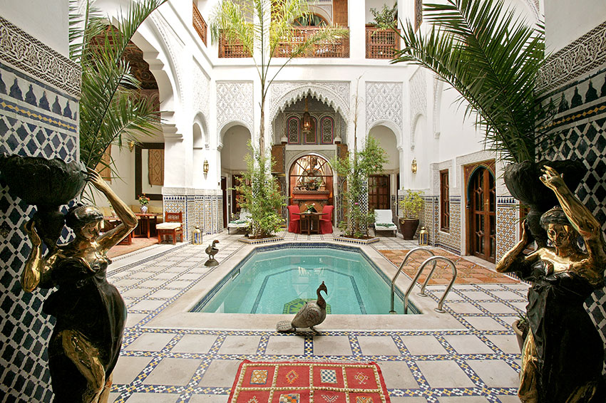 Marrakech hotels and riad luxury accommodation in marrakech for Hotel design marrakech