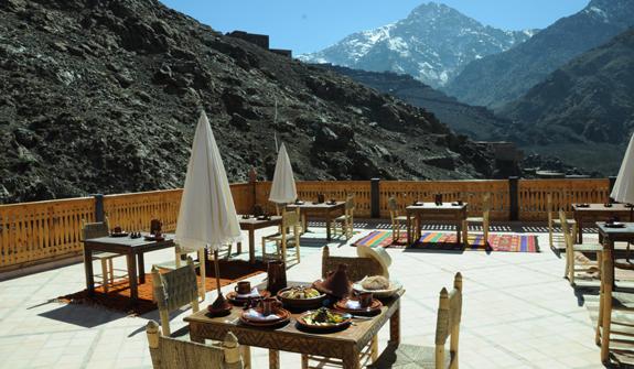 Kasbah Village du toubkal en en Las Montañas del Atlas
