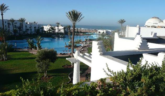 Hotel Palais des roses en Agadir