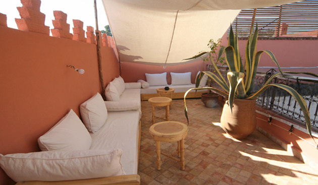 Riad anya marrakech meilleures offres de riad anya - Salon oriental au sol ...