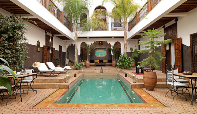 Marrakech hotels and riad luxury accommodation in marrakech for Riad piscine privee marrakech